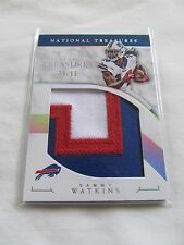 2016 National Treasures FB TREMENDOUS TREASURES #TTR-SW Sammy Watkins #/99!! V