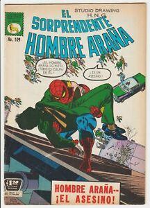 EL SORPRENDENTE HOMBRE ARAÑA #109 MEXICAN AMAZING SPIDER-MAN 90 CAPT STACY DIES