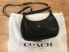 Gorgeous Black Leather Coach Handbag / Shoulder Bag
