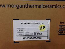 """Ceramic Fiber Blanket  2400   2"""" x 24"""" x 12.5' 8# Dens"""