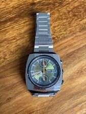 citizen monaco uhr watch chronograph vintage 70s james bond mc queen f1 sammler