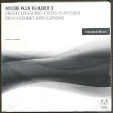 Adobe Flex Builder 3 for PC and Mac - Standard Edition - Full Retail NEW!