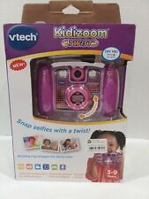 NEW IN OPENED BOX VTech 80-140830 Kidizoom Twist Connect Camera - Purple Games