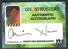 GHOSTBUSTERS (Cryptozoic 2016) AUTOGRAPH CARD #AH ARSENIO HALL Animated Series
