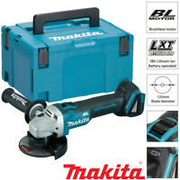 Makita DGA504Z 18v Cordless Brushless 125mm Angle Grinder Lithium Bare + Makpac