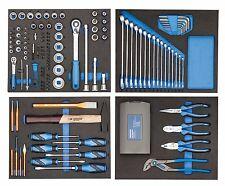 GEDORE TS 147 Werkzeugsortiment in Check-Tool Modulen 147-teilig