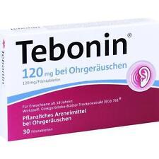 TEBONIN 120 mg bei Ohrgeräuschen Filmtabletten 30 St PZN 4369216