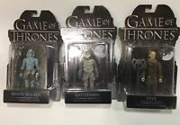 GAME OF THRONES  Lot Of 3  3 3/4-INCH ACTION FIGURES New In Pack