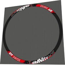 DT Swiss FR Gravity 27,5 Rim Sticker / Decal Set