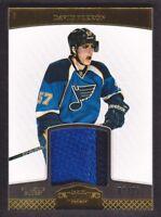 2011-12 Dominion Jersey Prime #82 David Perron Patch 01/25 St. Louis Blues