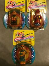 Alvin and the Chipmunks Wind Up Toys Simon Theodore 1983 Vintage NEW Bagdasarian