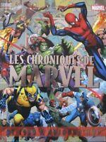 LE GUIDE DEFINITIF DU MONDE  COMICS Les chroniques Marvel de 1939 à aujourd'hui