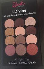 SLEEK MAKE UP i-Divine Mineral eyeshadow palette - Shade: All Night Long