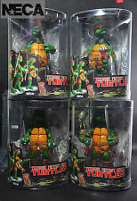 """4 PCS Brand New NECA Teenage Mutant Ninja Turtles TMNT 15cm 5.9"""" Action Figures"""