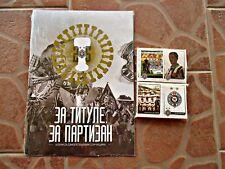 PARTIZAN FC - EMPTY ALBUM AND FULL SET OF STICKERS - NO PANINI