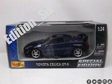 Maisto 1:24 TOYOTA CELICA GTS blue JDM sports car  New