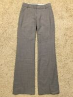 BANANA REPUBLIC MARTIN FIT sz 4L 4 Long (Ins 36) Gray WOOL BLEND PANTS  EUC F88