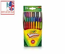 Crayola Twistables Crayons Coloring Set, Kids Indoor Activities at Home 24 Count