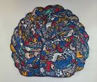 """Cloth Wipes 20 Flannel 8""""x8"""" Boy Girl Adult Forest Deer Owl Blue Red 1 or 2 Ply"""