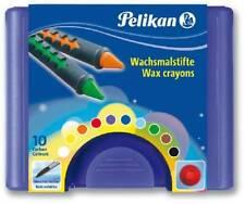 10 x Pelikan Wachsmalstifte Wach...