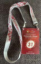 UEFA Club Hospitality Pass & Lanyard Euro 2008 Final - Spain V Germany