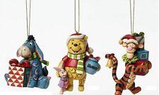 Enesco Jim Shore Disney Traditions Winnie the Pooh  Ornaments NIB  4046063