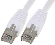 LEAD CAT5E SFTP PATCH WHITE 3M Cable Assemblies Network Cables