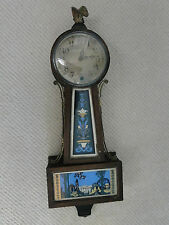 ANTIQUE CLOCK 1880 MADE BY NEWHAVEN CLOCK AND CO-WHITE HOUSE PICTURE