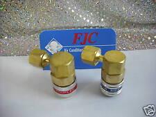R134a 90 Degree Quick Coupler Set 14mm x 1.5 Hose Connection, FJC 6012