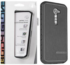 OEM Body Glove Satin Snap On Case Cover for LG Optimus G2 Black Verizon VS980