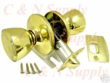 Polished Brass Passage Door Lock - Brand New!!