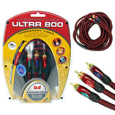 Monster THX Ultra 800 24k Plated 12 Ft Component Video Cable