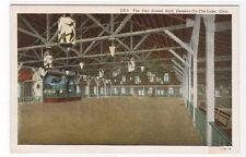 Pier Dance Hall Geneva on the Lake Ohio postcard