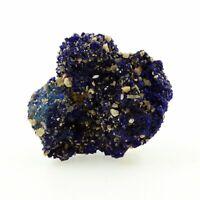 Chessylite ( Azurite ). 82.85 ct. Chessy-les-Mines, Rhône, France. Rare.