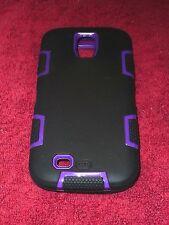 Galaxy S4 Case  ULAK 3in1 Hybrid Silicone Plastic Armor Case for Samsung Galaxy