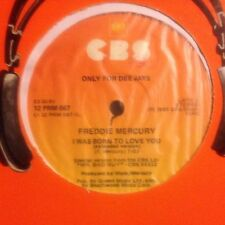 FREDDIE MERCURY • I Was Born To Love You • Vinile 12 Mix PROMO • 1985 CBS