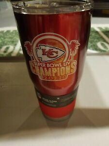 Super Bowl Champions Kansas City Chiefs Ultra Stainless Tumbler 30oz. Travel Mug