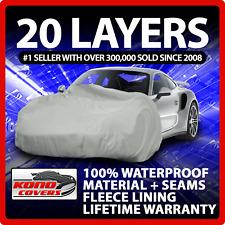 20 Layer Car Cover Fleece Lining Waterproof Soft Breathable Indoor Outdoor 17399