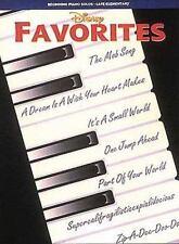 Disney Favorites. Partitions pour Piano, Voix by