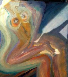 Abstract art paintings canvas Original Done Bye Artist Catherine Hempfling