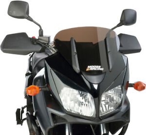 "Moose Racing -4"" Shorty Adventure Windscreen DL650 DL1000 V-Strom (DARK TINT)"