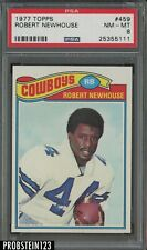 1977 Topps Football #459 Robert Newhouse Dallas Cowboys PSA 8 NM-MT