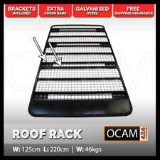 Roof Rack for Toyota Landcruiser 100 Series Steel Full Length Flat Platform