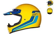 CASCO INTEGRALE VINTAGE NEXX XG.200 DESERT RACE YELLOW TAGLIA XL