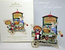 2007 Hallmark Hoppy Holidays Decor & More Ornament Kringlewood Farms And Bunny