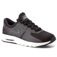 Nike Air Max Zero UK Size 5 EUR 38.5 Women's Trainers Shoes Black White