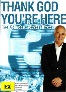 THANK GOD YOU'RE HERE - Complete Series 3 (DVD 3 Disc Set) - Region 4 - VGC.