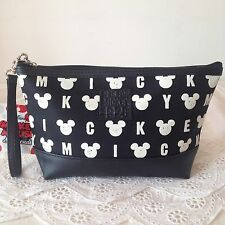 DISNEY MICKEY MOUSE Cosmetic Make Up Bag Accessory Pencil Case w 23 x h 13 cm.
