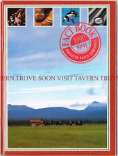 1990-91 Budweiser Fact Book 6½ x 8½ inch 64 Pages Tavern Trove