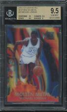 2012-13 Fleer Retro '96-97 Molten Metal #20 Michael Jordan BGS 9.5 GEM MINT
